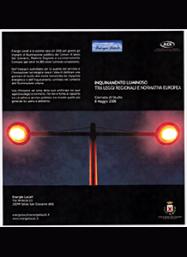Inquinamento luminoso tra leggi regionali e normativa europea