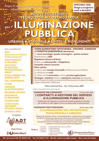 Illuminazione Pubblica 2009